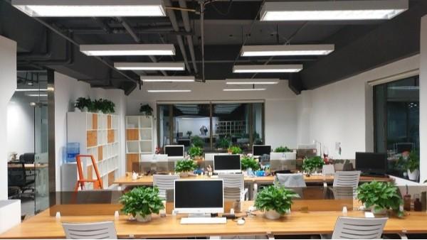 龙源东盛合作客户之北京和乔大厦声谷教育办公室LED灯具改造方案