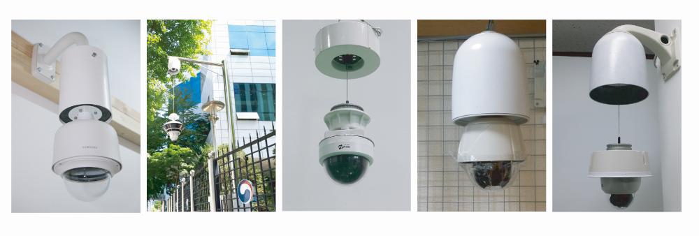 CCTV升降器案例图片集
