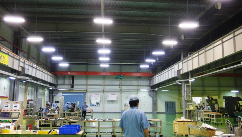 大连THK工厂采用松下工厂专用控照型灯具