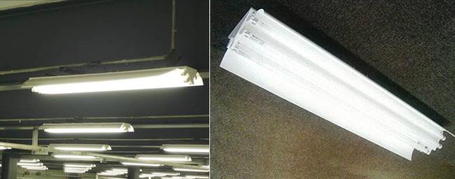 灯具安装效果