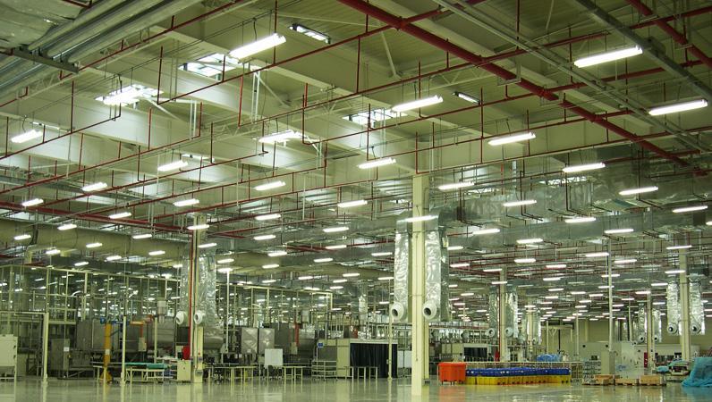 龙源东盛合作客户之上海普惠发动机维修基地