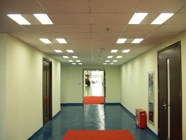 办公区域走廊